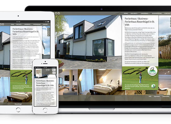 Responsive Webdesign by Intec